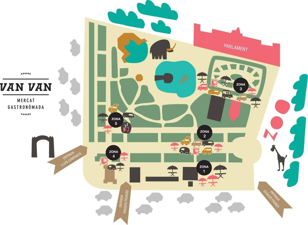 Mapa Van Van Market