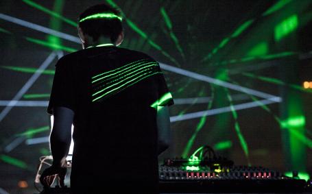 Mira Festival 2014 Max Cooper presents Emergencelark - Phosphor