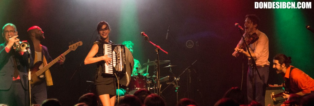 MOLOTOV JUKEBOX - Music Hall - Barcelona