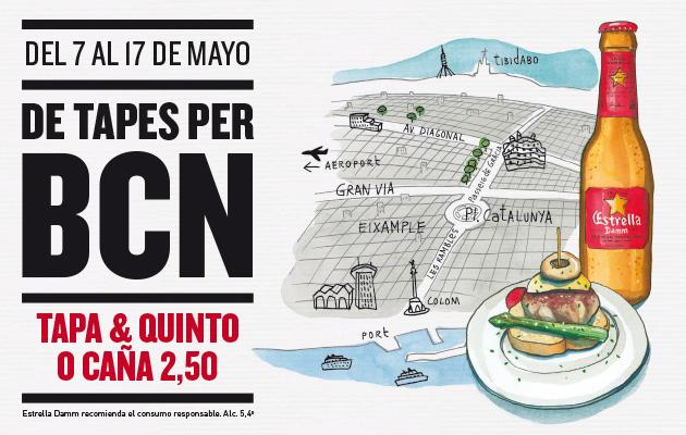 Ruta de tapes BCN - Gastronosfera #dondesibcn